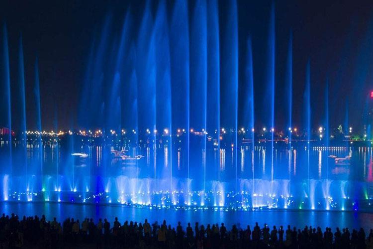 大型千赢国际娱乐网站千赢国际官网可起到净化空气的作用,使景区的空气更加清洁新鲜湿润