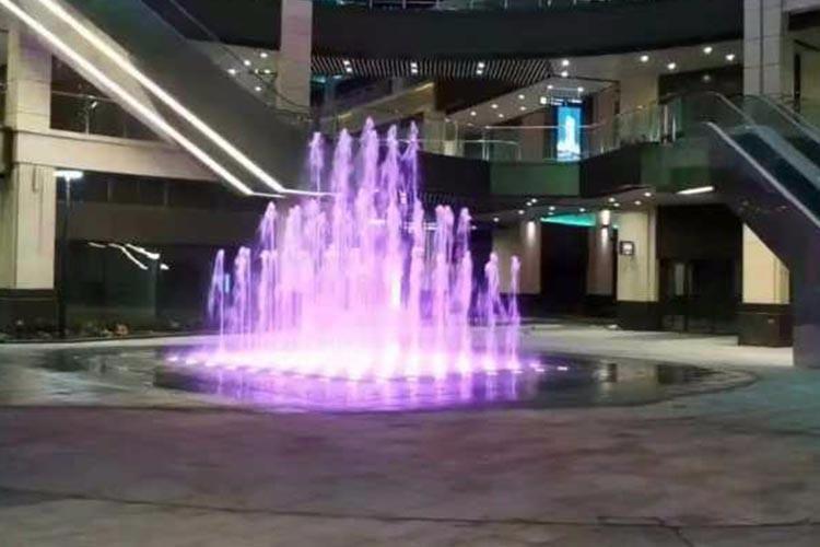 临沂市豪森丽都商业广场矩阵式旱喷
